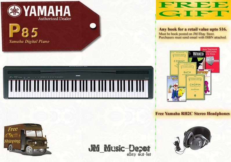 Alanintuition yamaha p85 p85 p 85 digital piano brand new for Yamaha p85 contemporary digital piano
