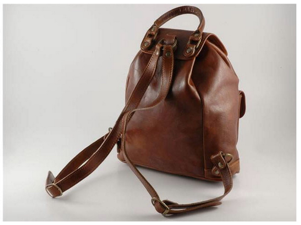Flavor of Tuscany : Italian HighQuality Calfskin Leather Backpack ...