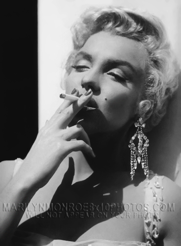 MARILYN MONROE  SOPHISTICATED SMOKER (1) RARE 8x10 PHOTO