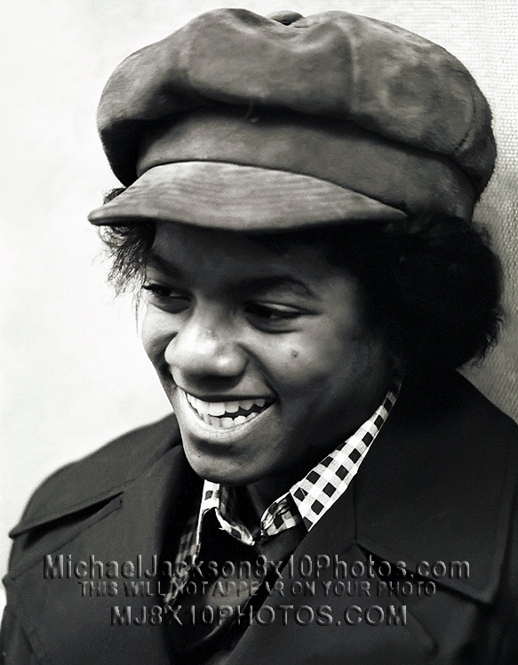 MICHAEL JACKSON  11Yrs Old wOliver hat (3) RARE 8x10 PHOTOS