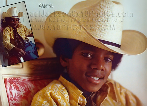 MICHAEL JACKSON  1969 at 10 years OLD (1) RARE 8x10 PHOTO