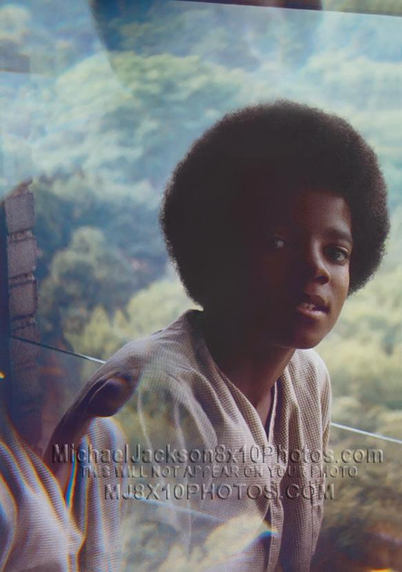 MICHAEL JACKSON  1970 at 11 years OLD (2) RARE 8x10 PHOTOS