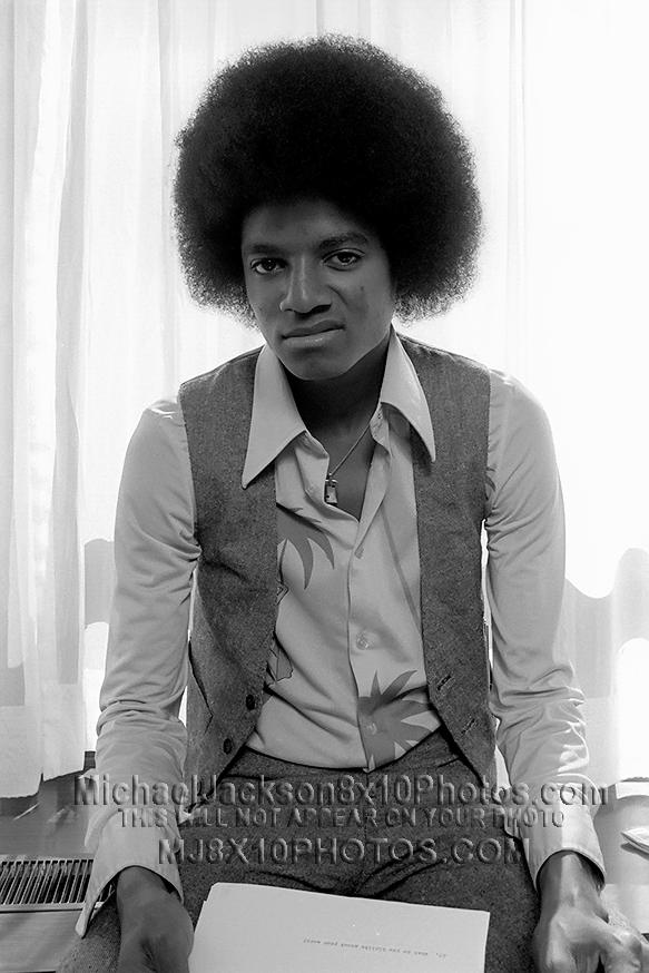 MICHAEL JACKSON  1976 AFROandTWEED (3) RARE 8x10 PHOTOS