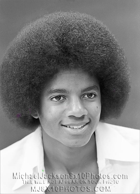 MICHAEL JACKSON  1977 BIG HAIR (3) RARE 8x10 PHOTOS