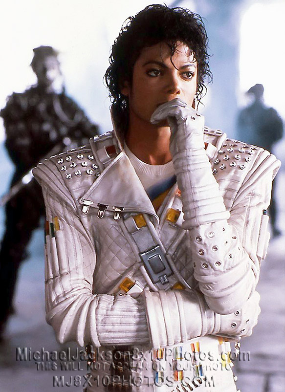 MICHAEL JACKSON  1980s CAPTAIN EO (3) RARE 8x10 PHOTOS