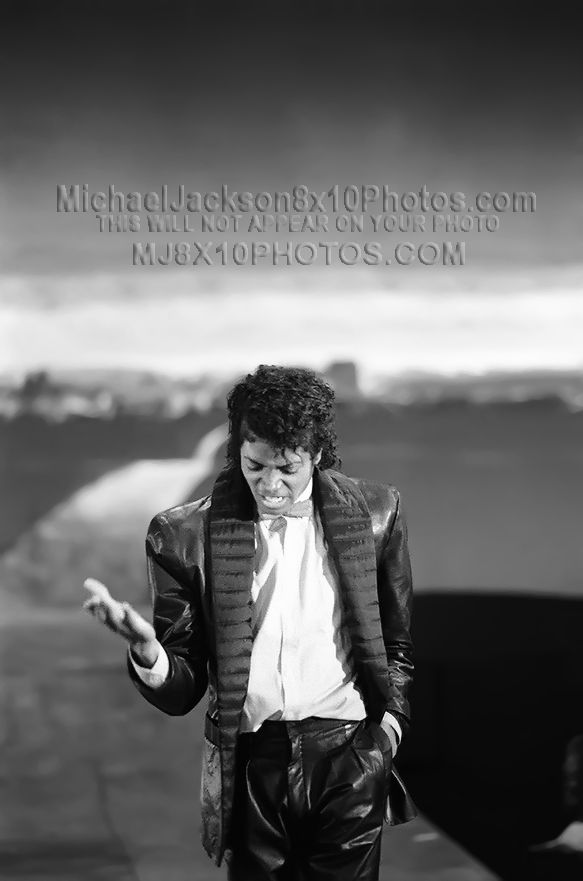 MICHAEL JACKSON 1984 BILLIE JEAN ONSET (3) RARE 8x10 PHOTOS