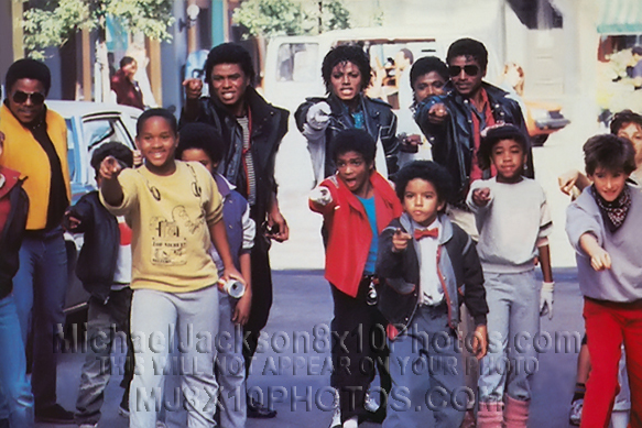 MICHAEL JACKSON 1984 PEPSI COMMERCIAL (3) RARE 8x10 PHOTOS