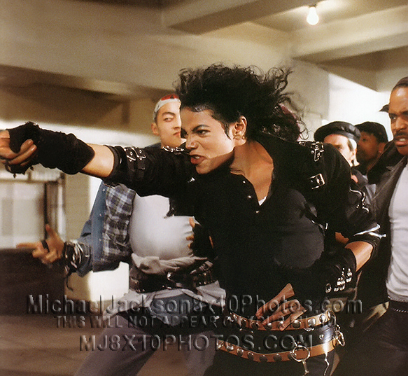 MICHAEL JACKSON  1987 BAD ONandOFFSET (3) RARE 8x10 PHOTOS