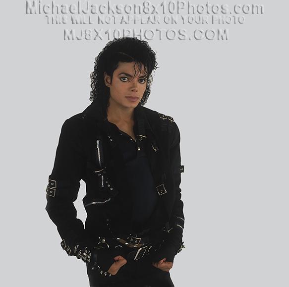 MICHAEL JACKSON 1987 BAD PROMO SHOTS (2) RARE 8x10 PHOTOS