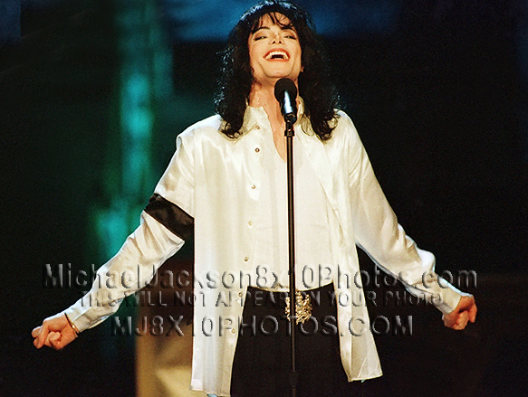 MICHAEL JACKSON  1997 SONG FOR LIZ (3) RARE 8x10 PHOTOS