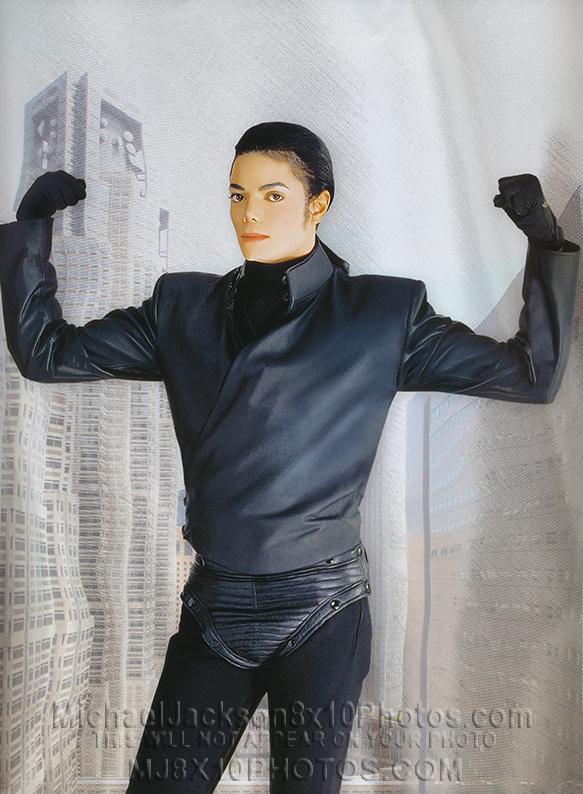 MICHAEL JACKSON 2004 STRONGMAN MJ (1) RARE 8x10 PHOTO