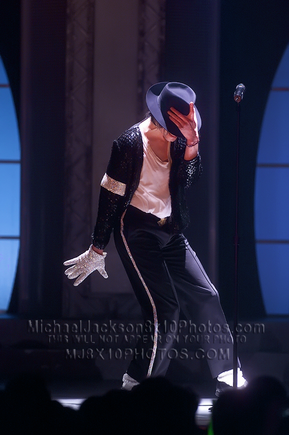 MICHAEL JACKSON  30thAnniv. BILLIEJEAN (3) RARE 8x10 PHOTOS