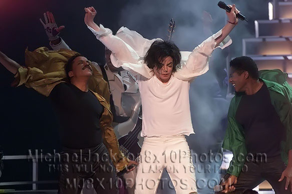 MICHAEL JACKSON  30thAnniver wBrothers (3) RARE 8x10 PHOTOS