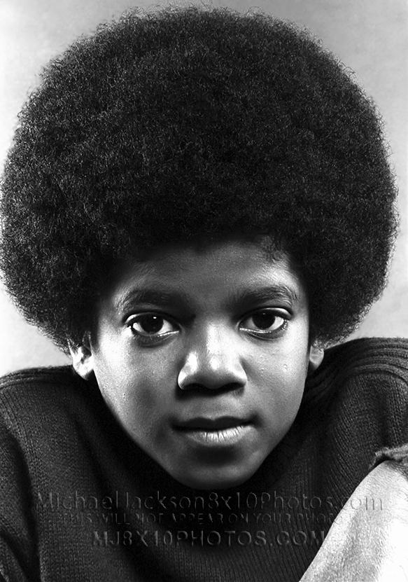 MICHAEL JACKSON  AGE10 HEAD SHOTS (3) RARE 8x10 PHOTOS