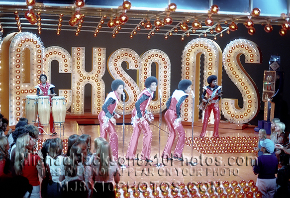 MICHAEL JACKSON  JACKSONS TV SPECIAL (3) RARE 8x10 PHOTOS