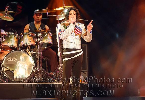 MICHAEL JACKSON  UNITEDweSTAND Concert (3) RARE 8x10 PHOTOS