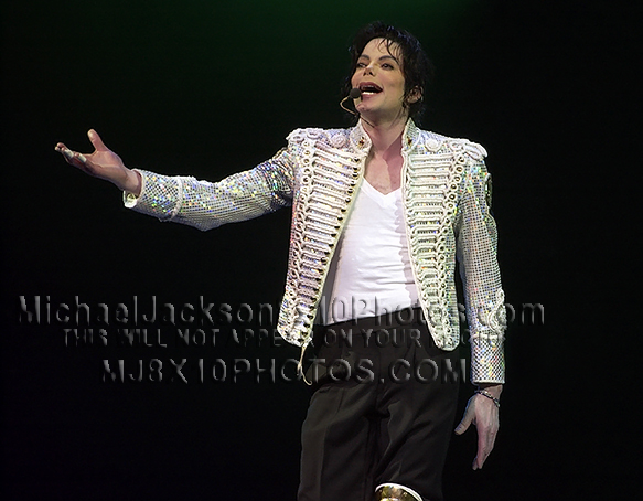 MICHAEL JACKSON  UNITED WE STAND show (3) RARE 8x10 PHOTOS