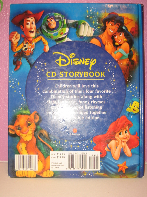 Val S Baby Boutique Disney Cd Storybook