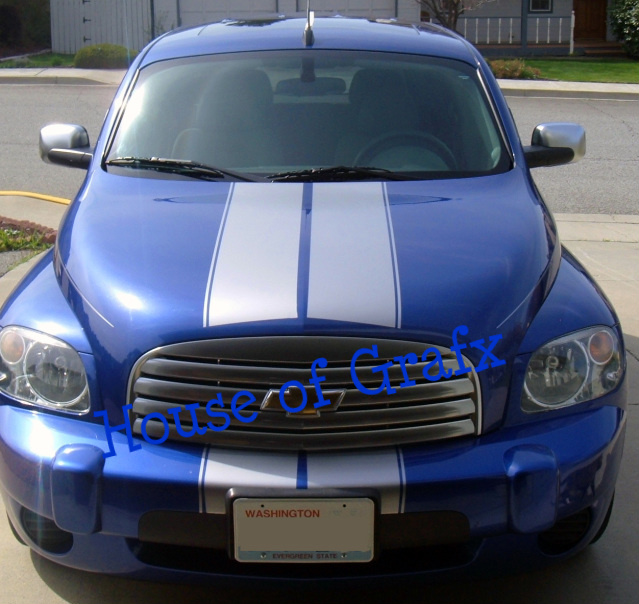 House Of Grafx Racing Rally Stripe Stripes Decals Fits