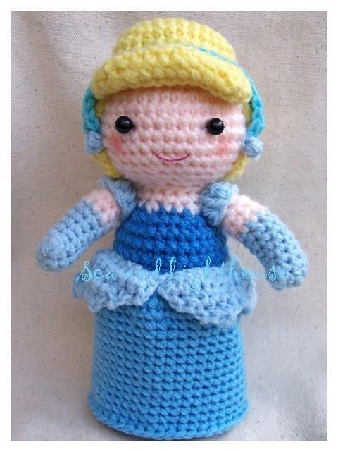 Basic Character Doll Amigurumi Crochet Pattern Basic Character