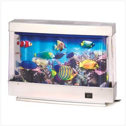 The fog shoppe tropical reef living aquarium motion lamp for Fish tank night light