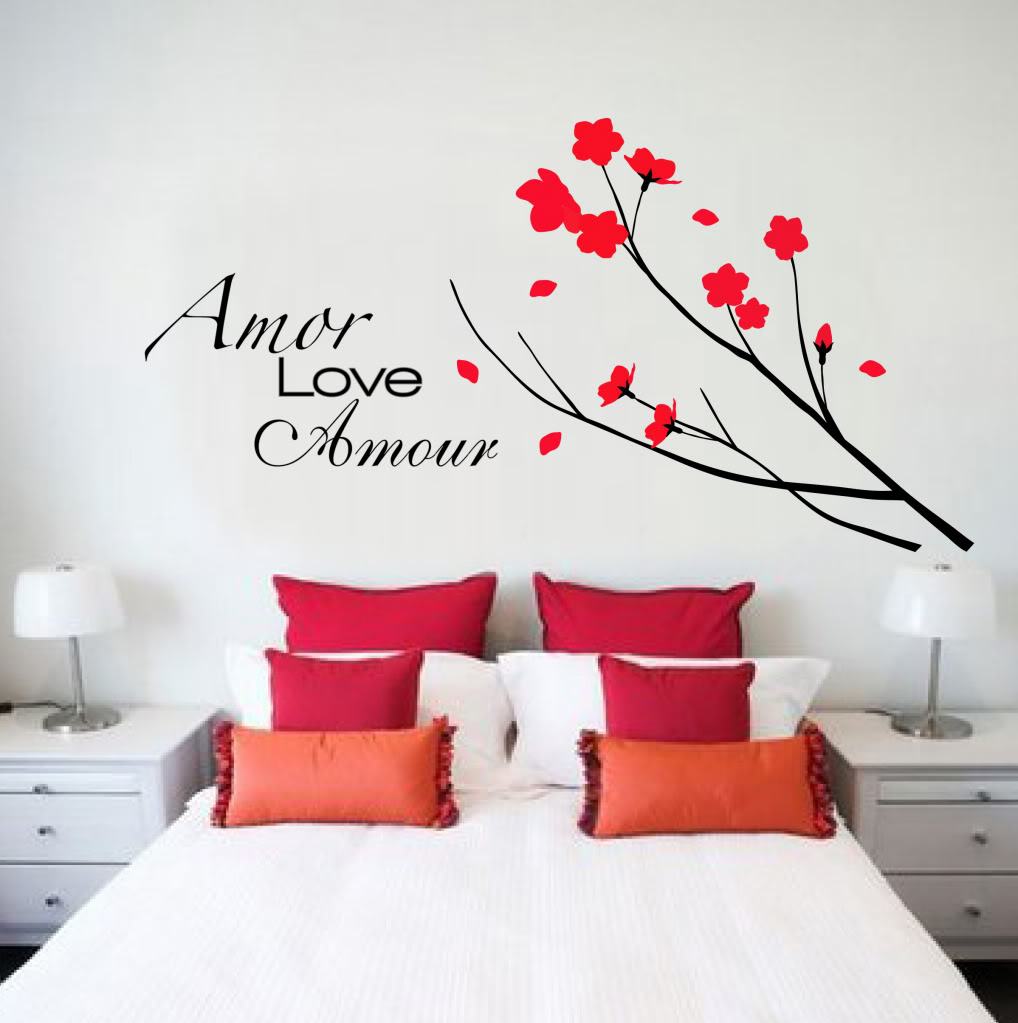 ... by digiflare : Wall Decal TOPIARY TREE FLOWERS Deco Art Sticker Mural