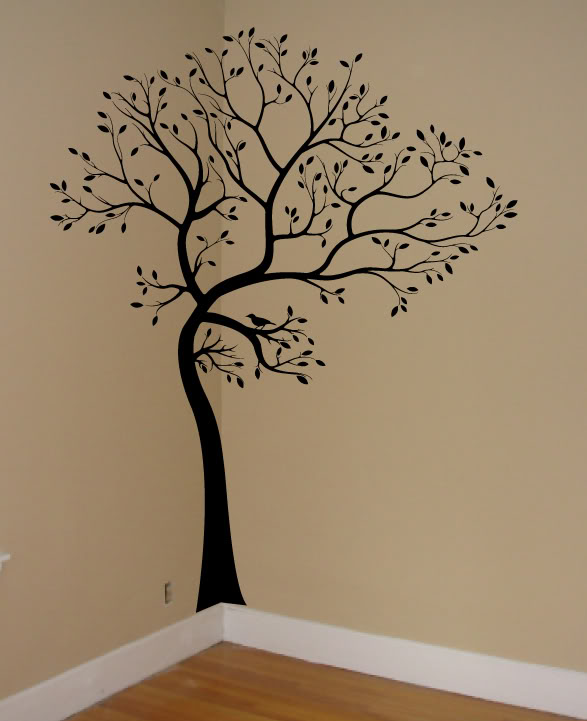 Wall stickers tree 2017 grasscloth wallpaper for Tree wall art