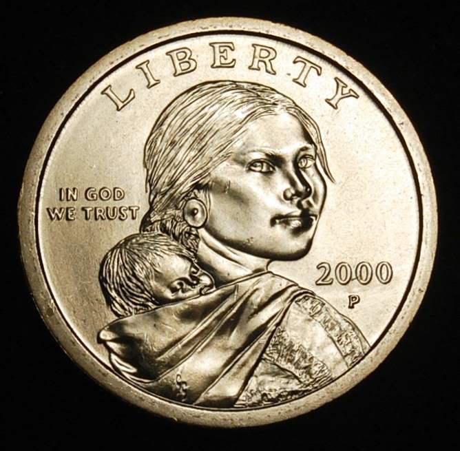 Zeke1629 2000 P Sacagawea Dollar Choice Brilliant