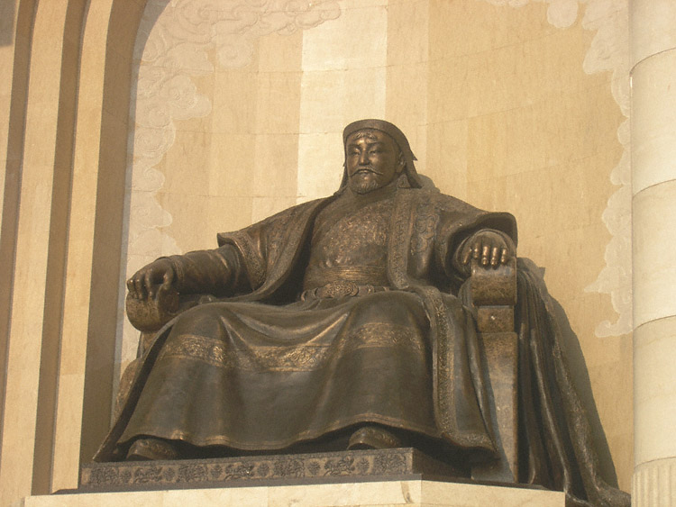 genghis kahn Genghis khan (1162 – 1227), the founder of the largest contiguous land empire, the mongol empire, ever establishedhe was the son of yesugei, head of the borjigin clan, and his wife, hoelun born as temüjin, he united the mongol tribes and forged a powerful army based on meritocracy, and became one of the most successful military leaders in history.