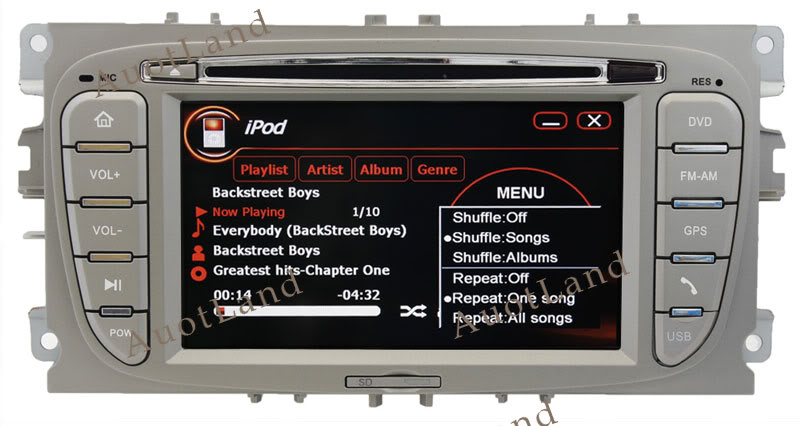 autodvdplayer gps ford new focus update dvd gps system. Black Bedroom Furniture Sets. Home Design Ideas