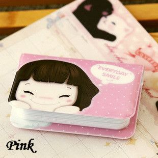 enjoyingstore Cute Business ID Credit Card Holder Case