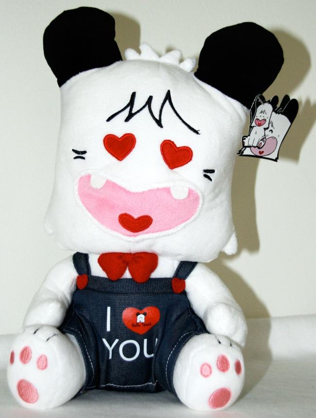 Lorenzo peluche hello spank san valentino