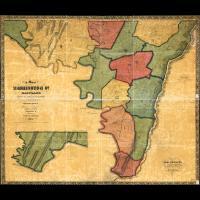 euriskodata : 74 antique maps MARYLAND treasure history ghost towns