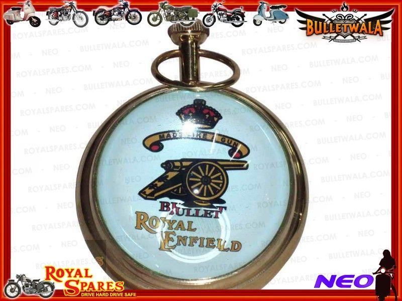 Royal Enfield Brass Spherical Desk Clock Amp Paperweight