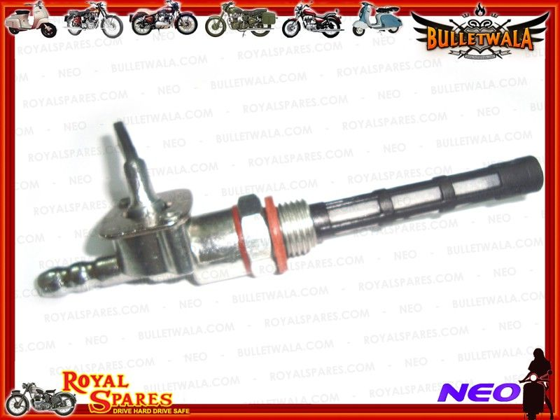 PETROL FUEL TAP WITH FILTER EARLY MODELS ROYAL ENFIELD New Brand