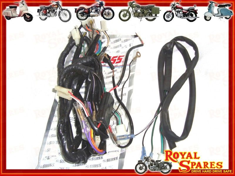 COMPLETE THUNDERBIRD WIRING HARNESS NEW 521004 Cheapest Prices – Royal Enfield Wiring Harness
