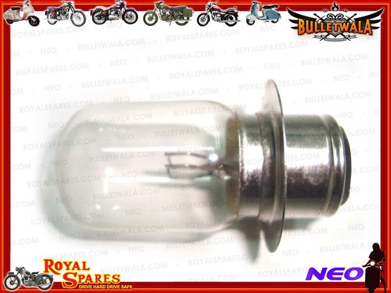 6v-30//24w 2 headlamp bulb bpf for royal enfield motorcycle 140268