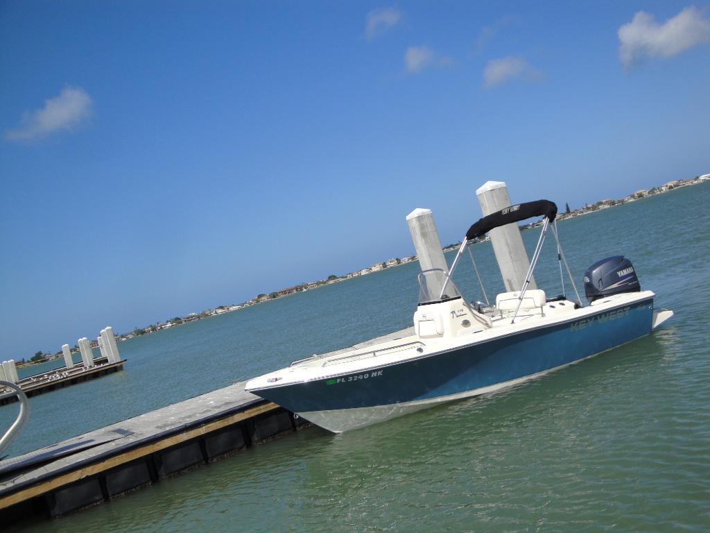 Wholesaleingfla 2007 key west center fishing bay boat cc for Key west fishing boats