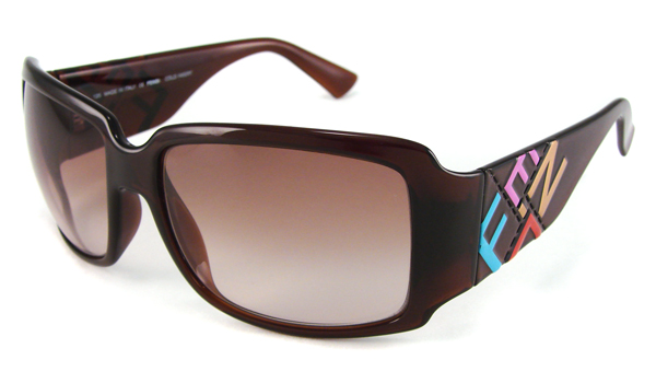 Brand New Fendi FS456 Woman 39s Sunglasses Brown Frame Made in Italy