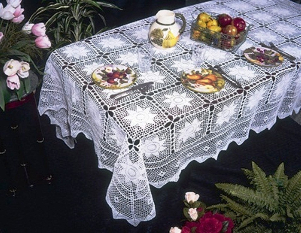 Easy crochet tablecloth patterns crochet and knitting patterns easy crochet tablecloth patternsee easy crochet tablecloth bankloansurffo Choice Image