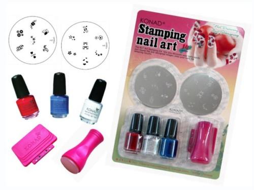 Konad Stamping Nail Art Starter Kit C