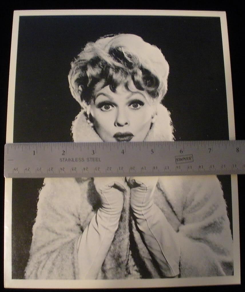 Paperpeddlerfivestar : Lucille Ball Lucy 8X10 Original