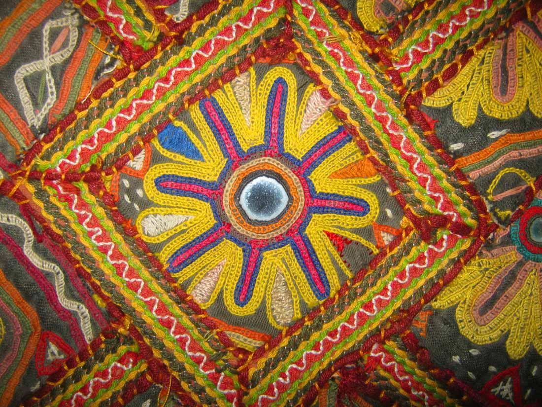 Ethnicindianarts Huge Kutch Banjara Rabari Hand Emb