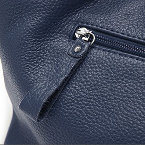 how to tell genuine leather