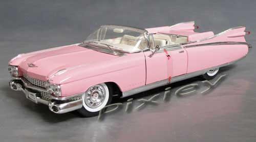 Pixieybags : Cadillac Eldorado 1959 Pink Diecast