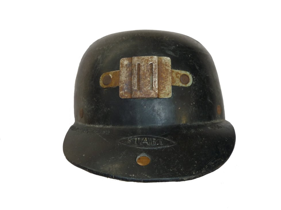 Antiquestall Antique Miners Hat Stabi 1940 Germany