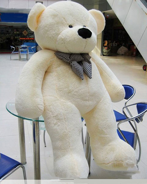 Tomyqj Giant Huge Lovely Teddy Bear Toy Brown Amp White AU