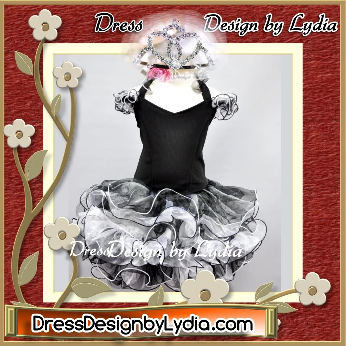 how to make a pageant dress shell