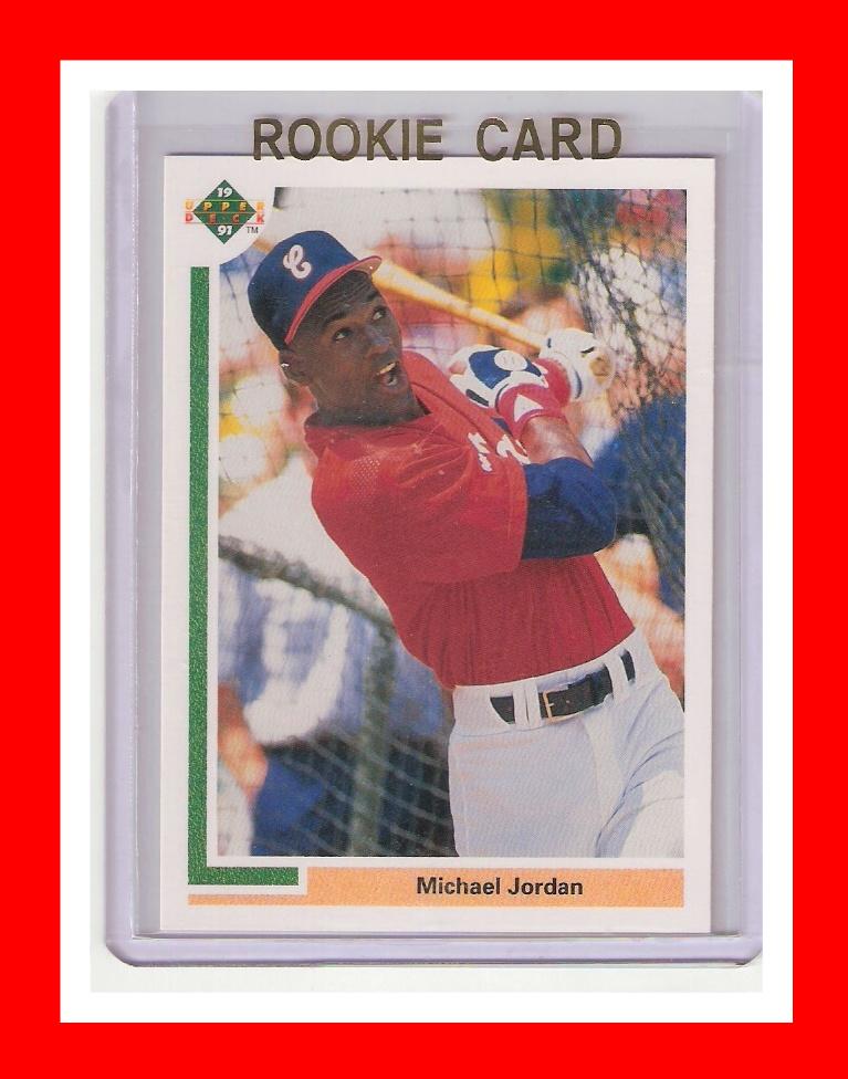 Islandgift2011 1991 Ud Sp1 Michael Jordan Baseball