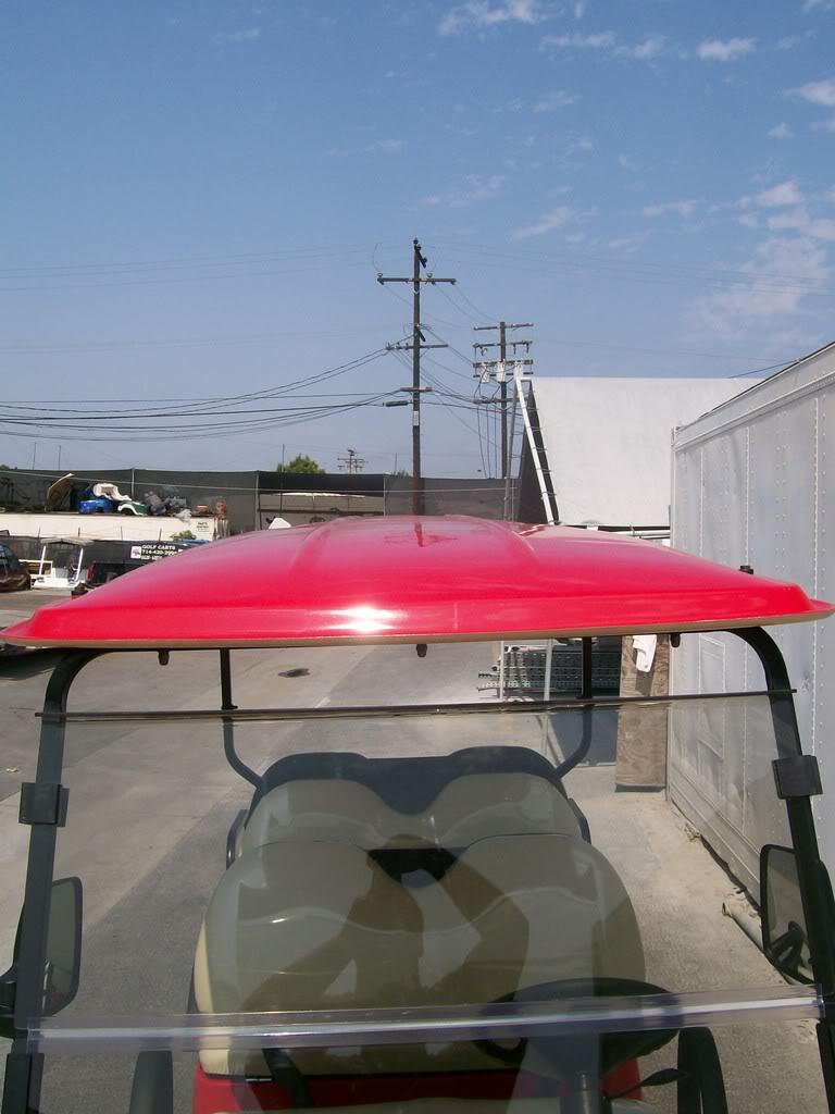 Extended Ez Go Club Car Yamaha Golf Cart Limo Roof Long